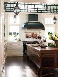 wooden kitchen island home styles white farmhouse kitchen island