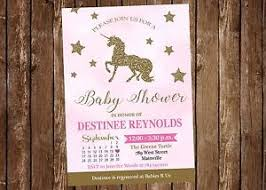 pink and gold baby shower invitations unicorn baby shower invitation pink gold baby shower unicorn