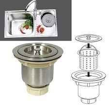 Best Stainless Steel Sink Trap Images On Pinterest Stainless - Kitchen sink waste traps