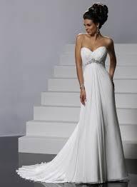 chiffon wedding dresses gossamer chiffon ruched strapless sweetheart neckline slim a line