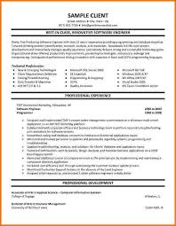 Sample Resume For Software Engineer Experienced by 7 Experienced Mechanical Engineer Resume Financial Statement Form