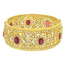 gold bangle bracelet set images Mogul diamond and ruby set gold bangle bracelet for sale at 1stdibs jpg