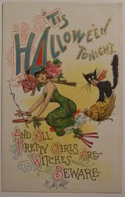 halloween vintage images 25 interesting and cute vintage halloween postcards vintage everyday