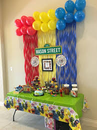 elmo birthday party sesame birthday party elmo sesamestreet