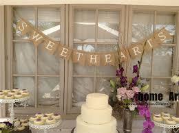 wedding banner sayings burlap banner wedding reception decor sign dessert table