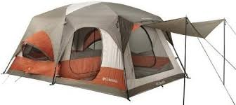 person camping tents