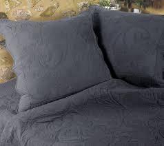 chemin de lit en lin couvre lit et boutis 160 x 200 univers decor