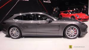 Porsche Panamera Red Interior - 2018 porsche panamera turbo sport turismo exterior and interior