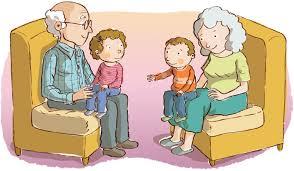 lds thanksgiving grandparents elderly clipart teaching lds children