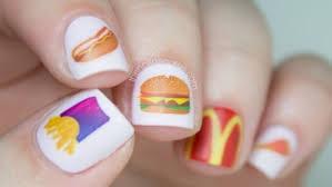 Food Nail Art Designs 12 Bizarre But Beautiful Food Nail Designs Recipes Food Network Uk