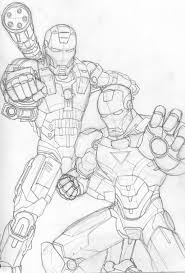 avengers iron man 3 coloring pages war machine coloring pages