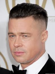 brad pitts haircut in seven brad pitt sag awards 2014 does angelina jolie approve of his new