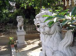 japanese guard dog statues komainu the history of japan s mythical lion dogs lions japan