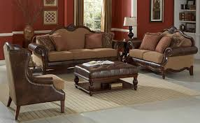 brown leather coffee table ottoman coffee table design ideas