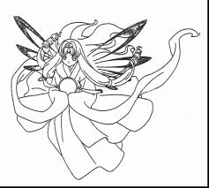 marvelous printable anime coloring pages for adults with anime