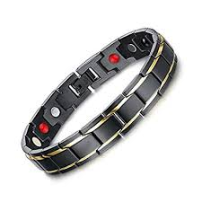 energy bracelet titanium images University trendz 18 k gold plated titanium health care therapy jpg