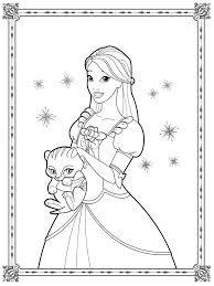 coloring pages barbie coloring pages for girls realistic coloring