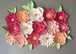 flower backdrop paper flower backdrop khdesign