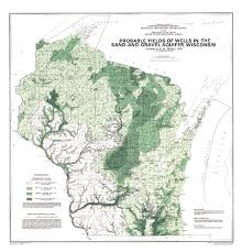University Of Wisconsin Map by Wisconsin Geological U0026 Natural History Survey Probable Yields Of