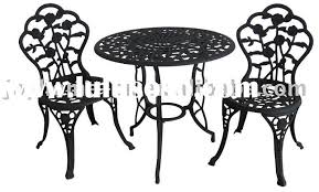 Iron Bistro Chairs Amazing Of Cast Iron Bistro Table And Chairs Cast Iron Chairs U