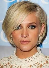 before and after pics of triangle face hairstyles ashlee simpson wentz long and inverted triangle face