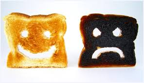 Toast Meme - burnt toast self diagnosis sally says eat sleep work