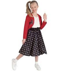 50s Halloween Costumes Kids Polka Dot Rocker Costume Kids Costume Halloween Costume
