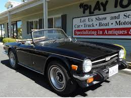 1976 triumph tr6 convertible
