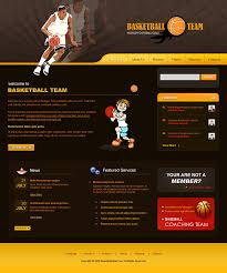 download flash templates for basketball clubs