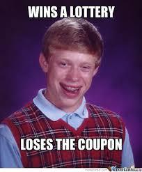 Lazy Eye Meme - bad luck lottery by lazyeye meme center