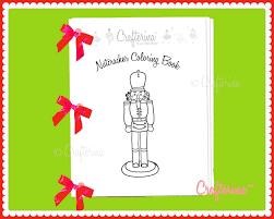 nutcracker ballet printable coloring u0026 activity ribbon book
