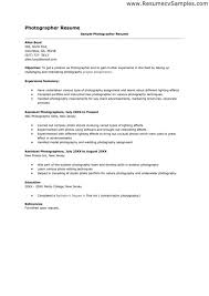 exles for cover letter for resume photographer cover letter exles photography