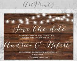 rustic save the dates rustic save the date boho country barn wedding save the date