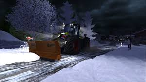 Snow Map Farming Simulator 2013 Snow Map U0026 Removal Claas Xerion 5000