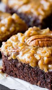over the top german chocolate brownies brownies bars