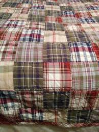 Woolrich Home Comforter Woolrich Home Patchwork Madres Plaid Quilt Twin Coverlet Comforter