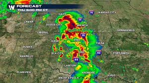 Severe Weather Map Alert High Risk Of Severe Weather Thursday Weathernation
