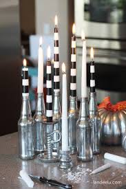 diy mercury glass halloween candles landeelu com