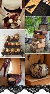 trick or treat u201d halloween inspired wedding ideas and wedding
