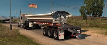 ats hauling sand with the smithco side dump ats trailer mod 1