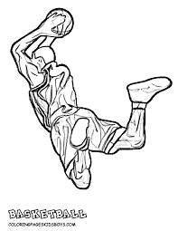Basketball Coloring Pictures Popular Michael Jordan Coloring Pages Basketball Color Page