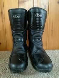 leather motorbike boots men u0027s leather size 9 uber motorbike boots in wymondham norfolk