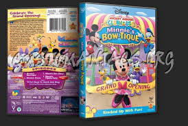 minnie s bowtique mickey mouse clubhouse minnie s bow tique dvd cover dvd covers