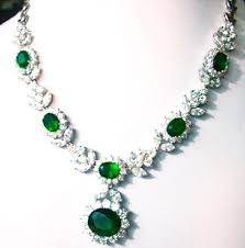 green drop necklace images Emerald green necklace necklace jpg