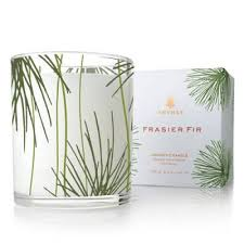thymes candles thymes frasier fir pine needle candle the paper store