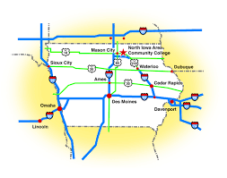 Map Of Des Moines Iowa Directions To Niacc North Iowa Area Community College