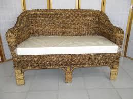 divanetto vimini dal pozzo dal pozzo andrea arredamento divani rattan giunco