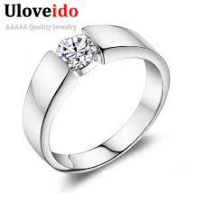 mens silver wedding rings aliexpress buy 15 wedding rings for women men