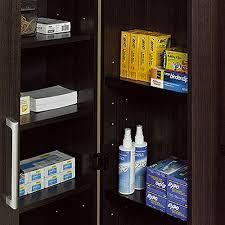 oak finish storage cabinet sauder storage cabinet dakota oak home furniture decoration