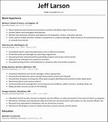 security officer resume resume format for security supervisor lovely all resumes